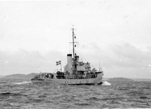 009_VEDETTBÅTAR V 49 SPRÄNGAREN 1946-08-02